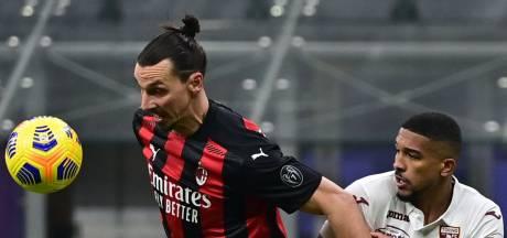 Ibrahimovic is van plan te verlengen bij AC Milan: 'Als ik mij goed voel, ga ik door'