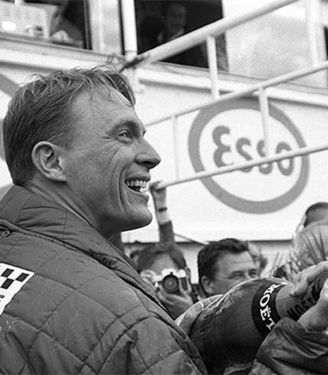 Racelegende en uitvinder van de Champagnedouche overleden