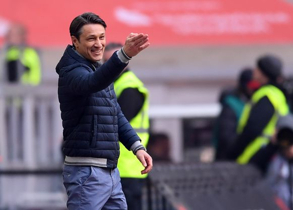 Niko Kovac kan lachen.
