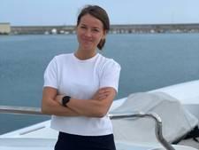Utrechtse Lonneke (25) al drie weken in quarantaine op luxe jacht in Italië: 'Ik leef van dag tot dag'