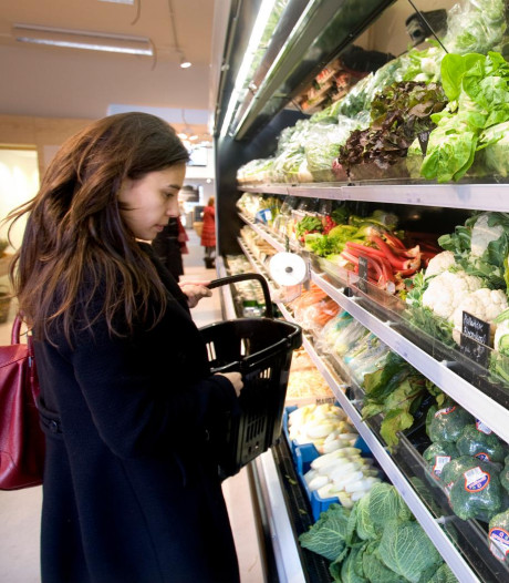Supermarkten Hazerswoude en Koudekerk lijnrecht tegenover elkaar