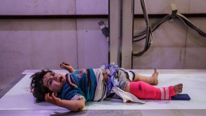 """""""Bloedigste week sinds 2015 in Syrië. Zeker 229 doden, onder wie 58 kinderen, door regeringsaanvallen"""""""