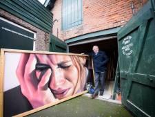 Werk dat wereldberoemde graffitikunstenaar Belin in Nuenen maakte wordt online geveild