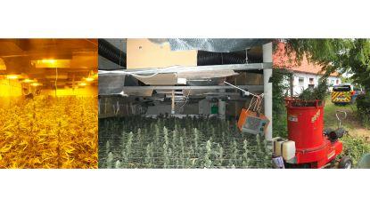Aanhouding twee Albanezen die mogelijk cannabisplantage onderhielden verlengd