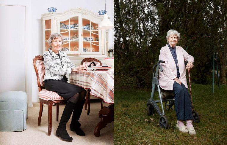 Gerda Alsma en Joke Folmer. Beeld Erik Smits