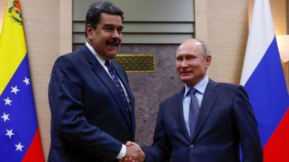 Venezolaanse president Maduro op bezoek bij Poetin