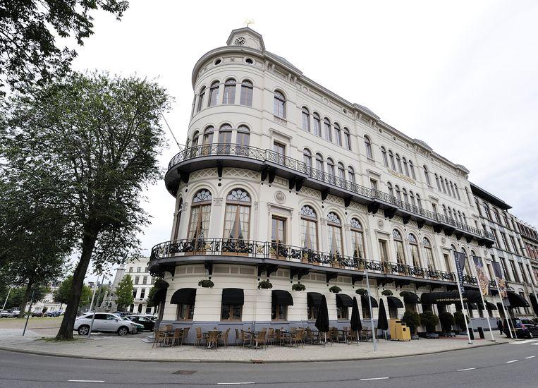 Het Wereldmuseum in Rotterdam, met het restaurant op de begane grond. Dat zal op 31 maart de deuren sluiten. Beeld anp