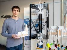 Jaap ontwerpt en 3D-print zijn eigen Eusebiuskerk: elke Arnhemmer wil er een hebben