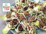 Recept van de dag: Witlofnestjes met linzensalade