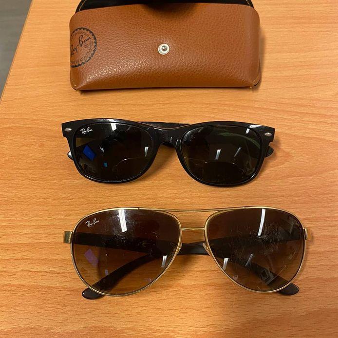 De 'autovoeler' die werd aangehouden in Bemmel had meerdere zonnebrillen in zijn bezit.