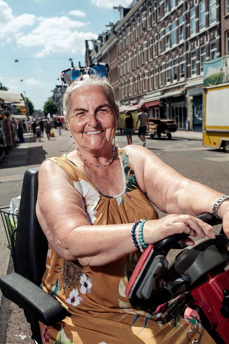 Sue Elzinga (68). Beeld Jakob Van Vliet