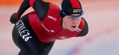 Emmeloordse schaatsster Femke Beuling (20) zegt NK sprint af door vermoeidheid