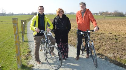 Veilige fietsverbinding naar centrum door halfverharding van buurtwegen