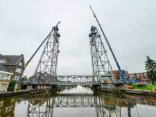 Probleem hefbrug in Boskoop zit in de torens: scheepvaart nog week gestremd