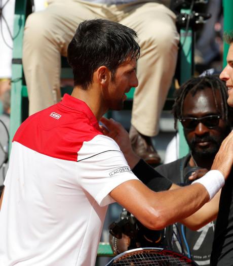 Djokovic onderuit tegen Thiem in Monte Carlo