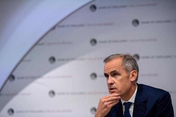 Mark Carney, gouverneur de la Banque d'Angleterre.
