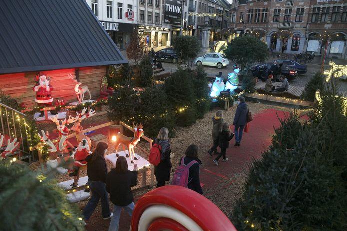 Aarschot maakte een coronaproof kerstdorp om zo alsnog een warme sfeer te creëren in de stad.