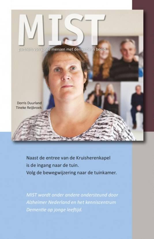 MIST. Partners van jonge mensen met dementie in beeld. Te bestellen door 28,45 euro over te maken naar NL92 RABO 0314 23 94 05 t.n.v. MIST Tilburg o.v.v. naam en adres.