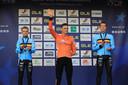 10-11-2019: Wielrennen: Europees Kampioenschap Veldrijden: Silvelle  Mathieu van der Poel is in Silvelle Europees kampioen geworden in het veld. De Nederlander volgde zichzelf op als kampioen. In de slotronde wist Van der Poel Iserbyt af te schudden.  Derde werd Laurens Sweeck.