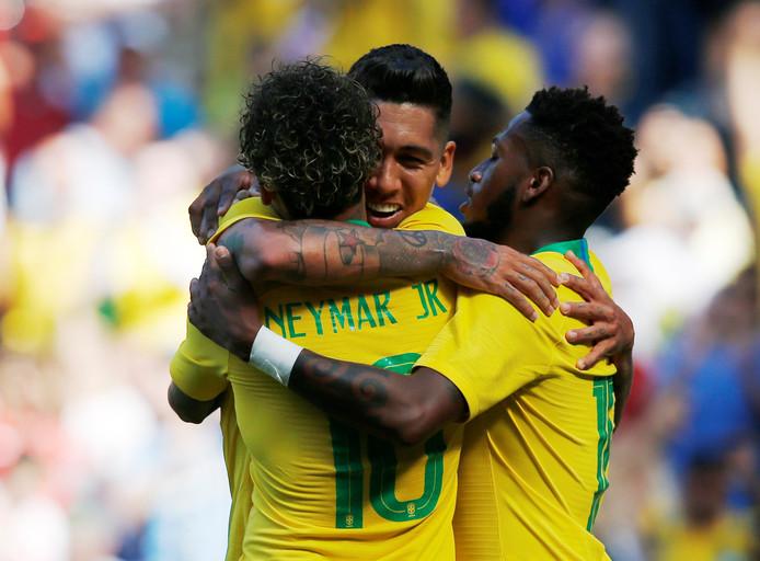 Volgens statistiekenbureau Gracenote de grootste kanshebber voor het wereldkampioenschap: Brazilië.