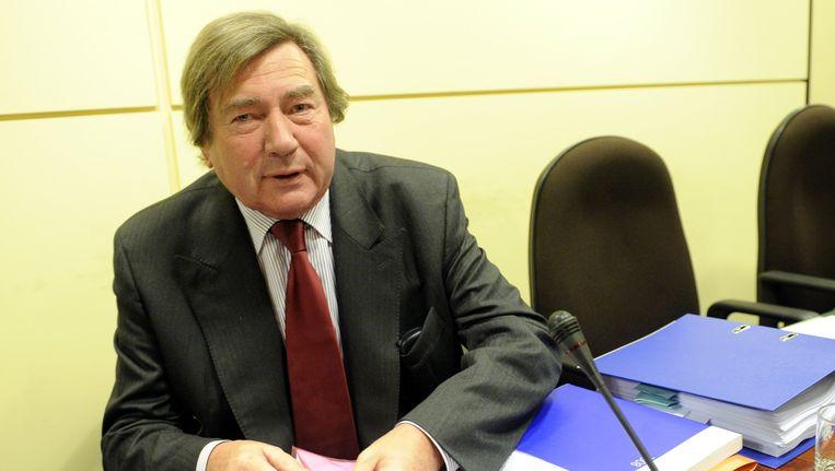 Serge Kubla, burgemeester van Waterloo.