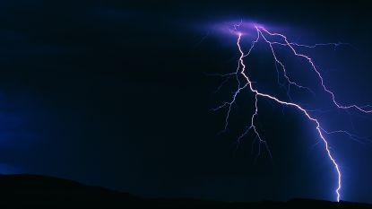 Speciaal noodnummer geactiveerd voor zwaar onweer: code geel en oranje