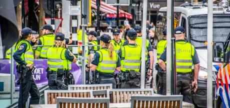 Veel politie op de been in binnenstad voor Willem II-wedstrijd, verschillende cafés dicht