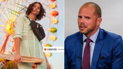 """Theo Francken smalend over campagne Zalando die stereotypen wil doorbreken: """"Lijkt me iets om terug te sturen"""""""