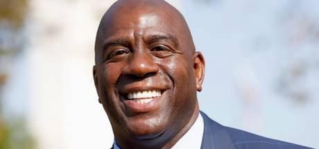 Magic Johnson maakt snel promotie na terugkeer bij LA Lakers