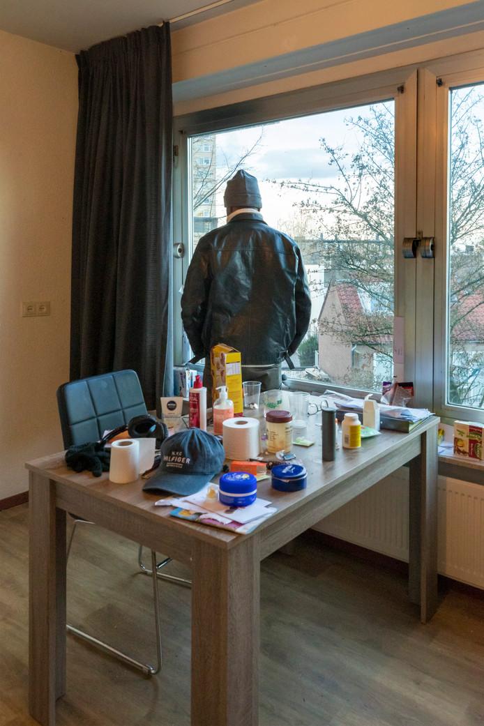 Het is koud in een woning in de Zuiderschans