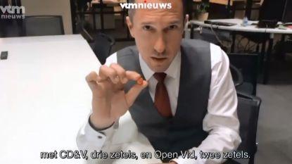 De Antwerpse moeilijke coalitievorming uitgelegd met ... M&M's