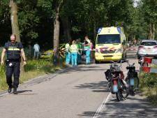 Traumaheli landt bij Driebergen na ongeluk met brommer