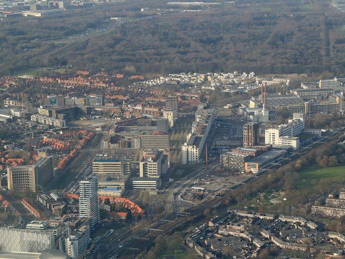 Eindhoven, Strijp-S en Spoorzone.