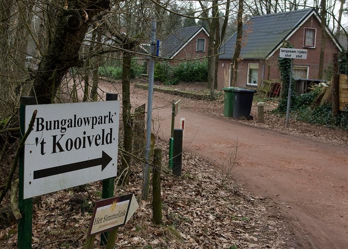 Archieffoto recreatiepark 't Kooiveld in het Winterswijkse Rommelgebergte.