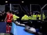 'Agent gewond door stoel tegen hoofd' door rellende supporters bij wedstrijd FC Eindhoven - Helmond Sport