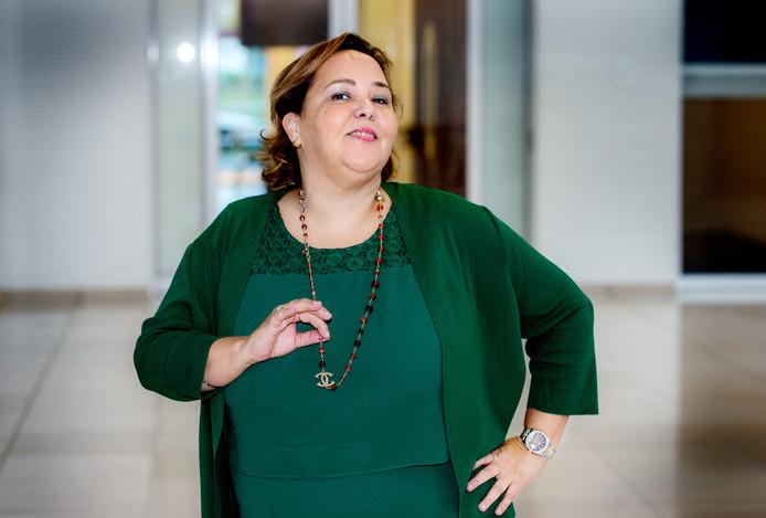 Ondernemer Rahma el Mouden.