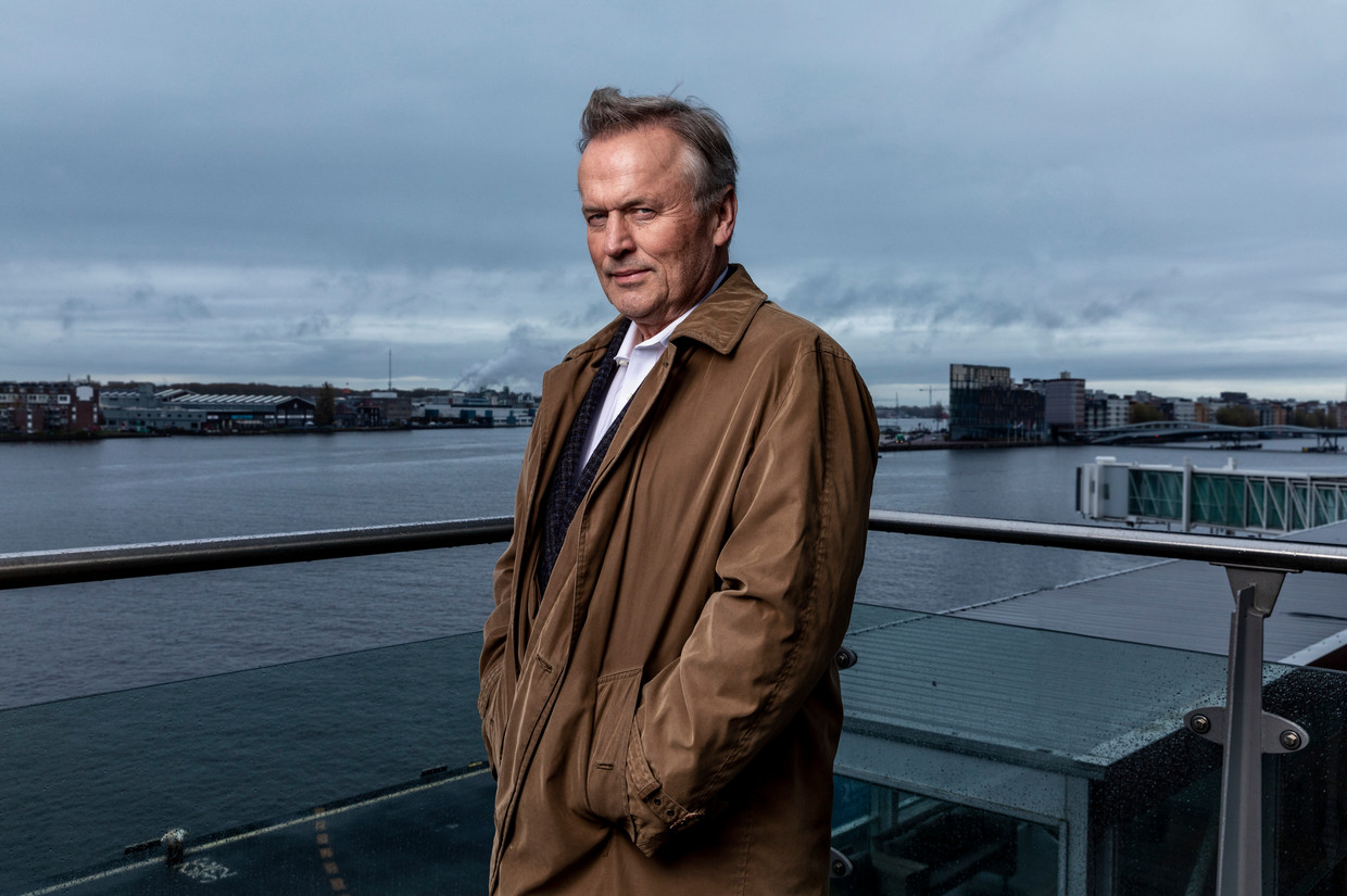 John Grisham was voor het eerst in Nederland. 'This is total fun.'