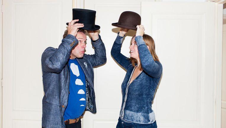 Erik van Muiswinkel en zijn dochter Emma zijn fans van het eerste uur. Beeld Renate Beense