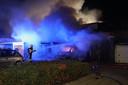Grote brand in Veghel.