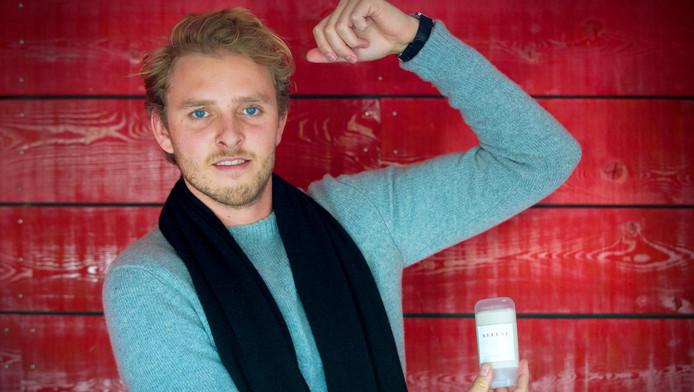 Mitchell Diercks en zijn wiet-deodorant.