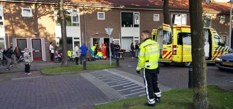 Man ernstig gewond na val van trap in woning Wageningen