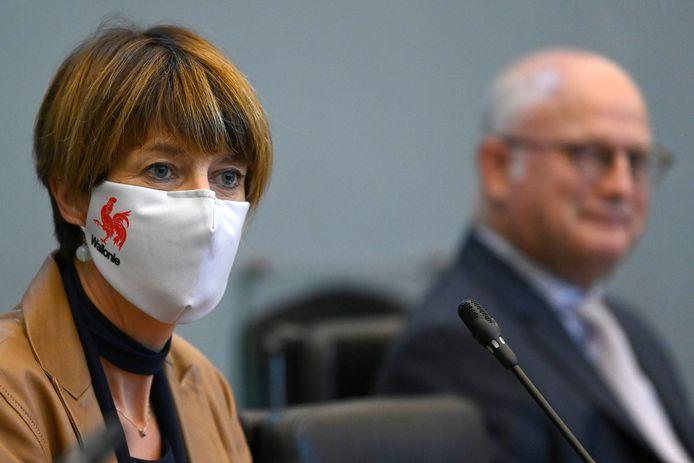 La ministre wallonne Valérie De Bue (MR).