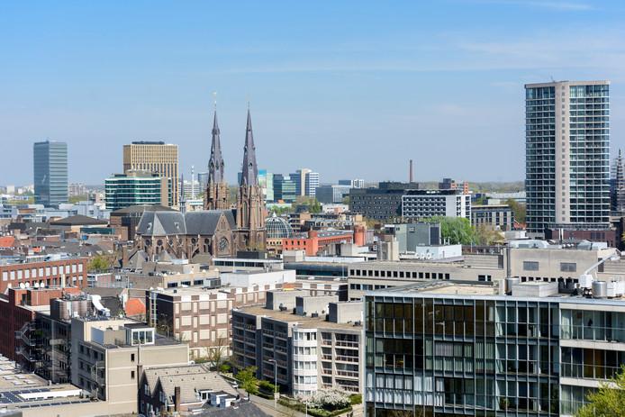 Hoogbouw in Eindhoven; overigens staat deze foto los van het verhaal. Van geen van de getoonde gebouwen is bekend of ze tot de risicovolle groep horen.