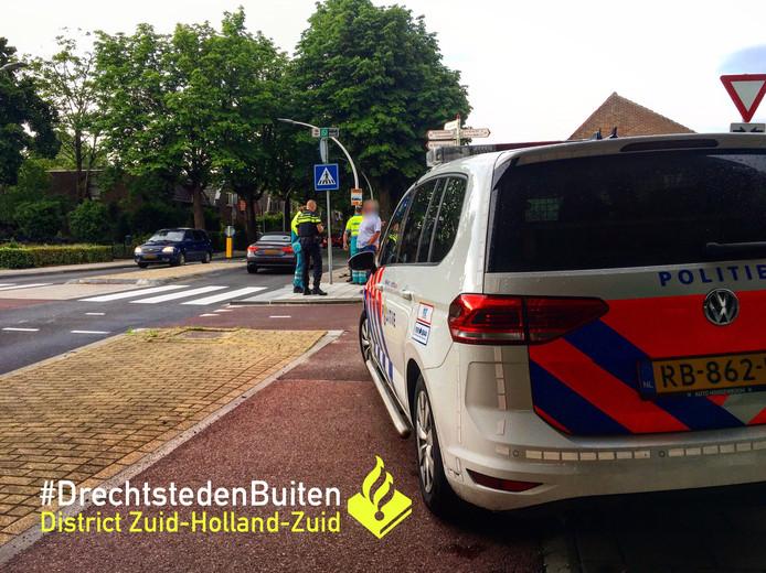 Het ongeluk gebeurde op de Stationsweg.