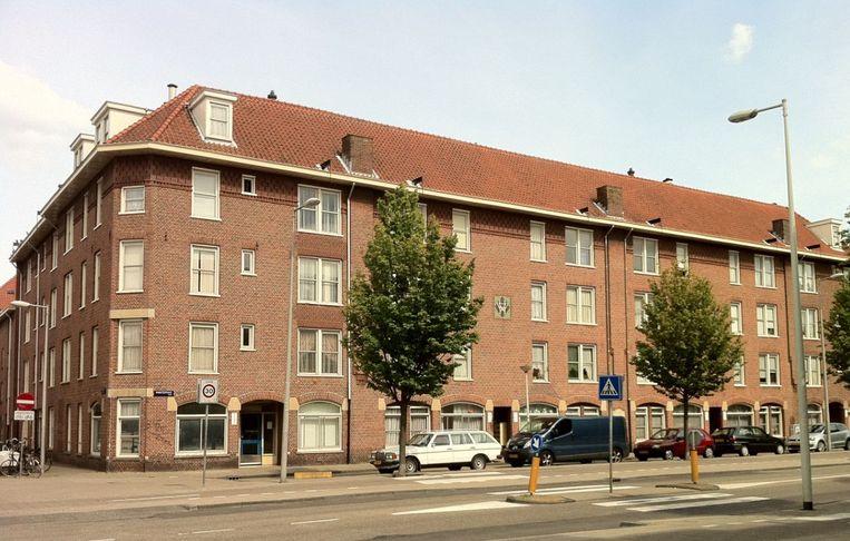 Gebouwen aan de Amsterdamse Tugelaweg Beeld