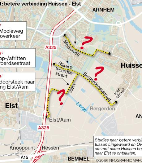 Sneller van Huissen naar Elst, en snel graag