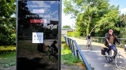 Fietsersbrug aan Boeveriepoort wordt 'Passantenfietsbrug'