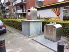 Bij losschieten klep zet Waardlanden Gorcumse wijkcontainer bewust half terug