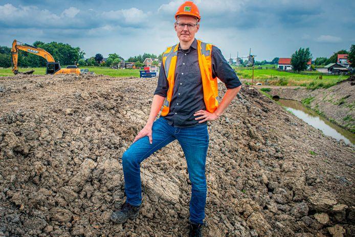 Projectleider Paul Hollander van de Nieuwe Driemanspolder Zoetermeer