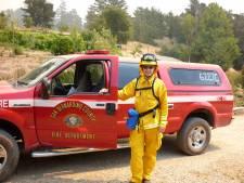 Twentse brandweerman leert van vuurzee in Californië